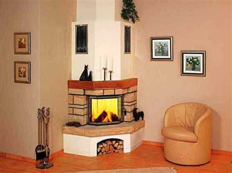 corner fireplaces offering unique decorative accents