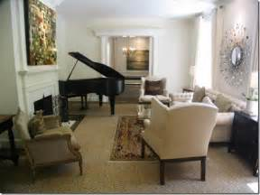 Living Room Arrangements With Baby Grand Piano Piano Placement In Living Room New House Ideas