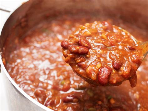 chili recipe crock pot easy beef with beans vegetarian