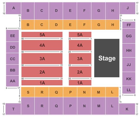knoxville civic coliseum seating disney on tickets seating chart knoxville civic