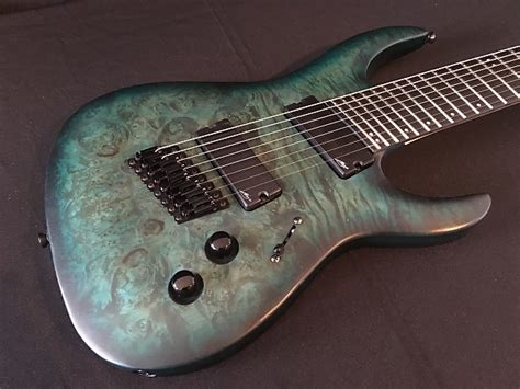 8 string fanned fret guitar legator ninja 300 pro fanned fret 8 string teal satin reverb