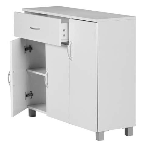 Schublade 90 Cm by Finebuy Sideboard Weiss 90 X 75 Cm 3 T 252 Ren 1 Schublade