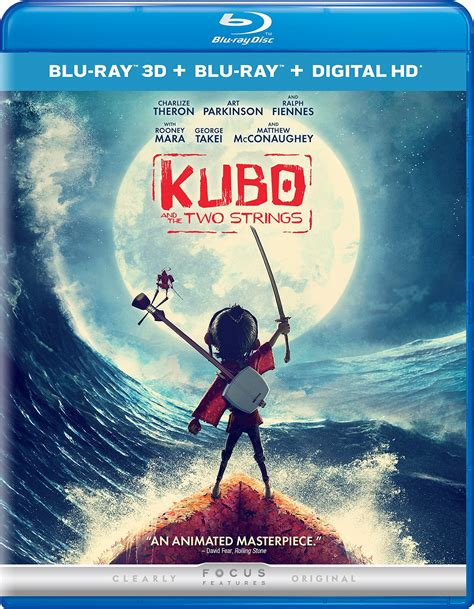 film blu ray 3d kubo and the two strings 3d blu ray