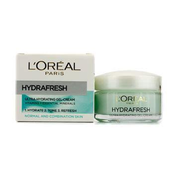 L Oreal Hydrafresh Gel l oreal hydrafresh ultra hydrating gel for normal