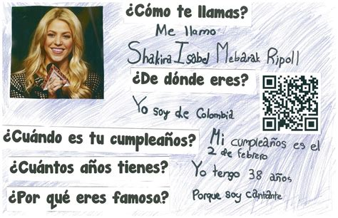 famous hispanic people shakira hispanic heritage month project for elementary school