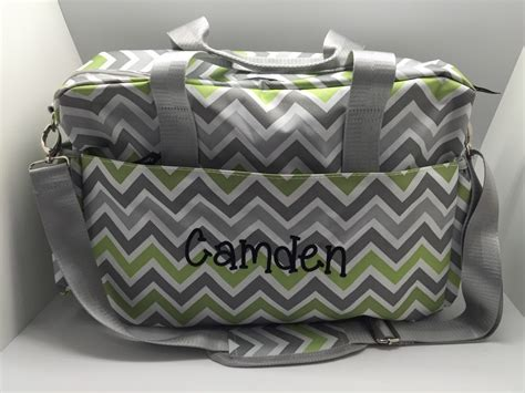 monogram diaper bag personalized baby boy diaper bag baby