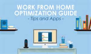 work from home optimization guide tips apps
