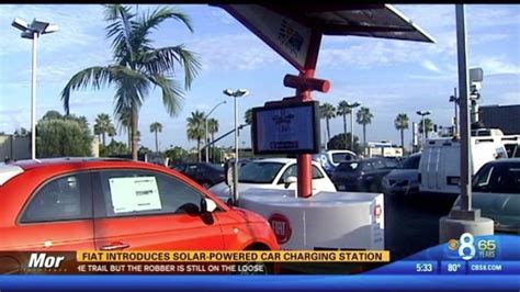 kearny mesa fiat fiat introducing solar charging station for evs in san