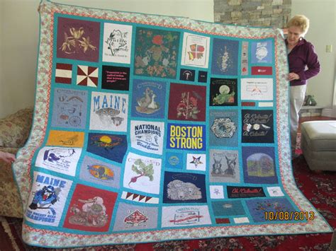 King Size T Shirt Quilt by Custom Made King Size T Shirt Memory Quilt By Stitches By Stiles Custommade