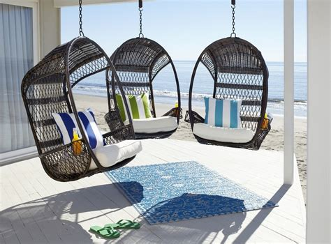 Pier 1 Imports Swing Chair by Pair A Hippy Happy And Swingasan 174 With Bold Pillows