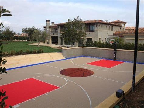 full court basketball court backyard 1000 ideas about backyard basketball court on pinterest