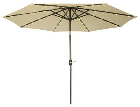 solar lighted patio umbrella deluxe solar powered led lighted patio umbrella 9