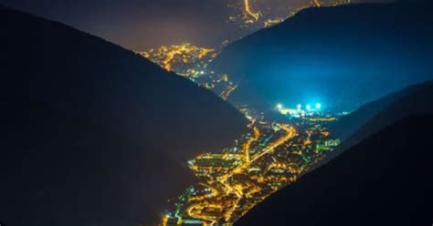 valley lights valley of lights val trompia italy travel