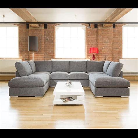 U Shaped Grey Sectional Best 25 U Shaped Sofa Ideas On U Shaped Living Room U Shaped And U
