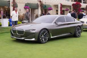 Bmw Pushes Electric Cars Relies On Luxury Models Coolest Cars Of The 2014 Pebble Concept Lawn
