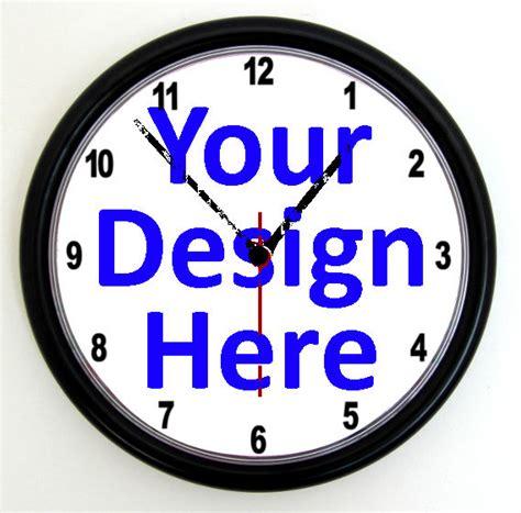 custom promotional clock personalised wall clock