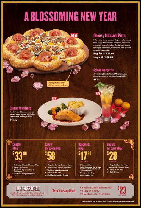 pizza hut new year promotion 10 lunar new year festive promotions from popular fast