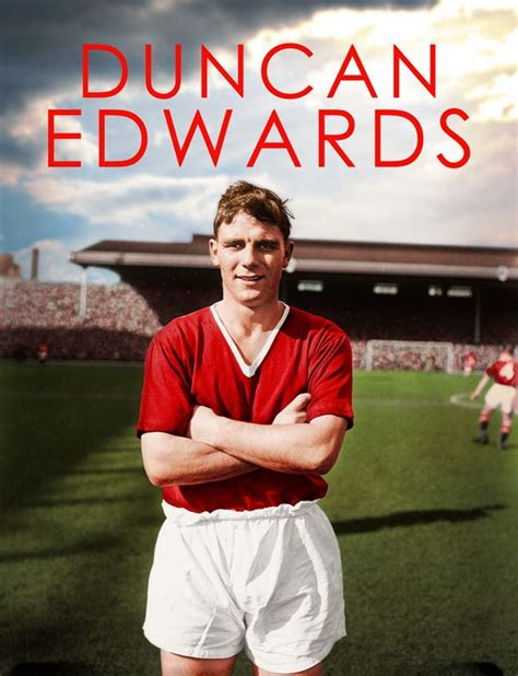 Man Utd Duvet Duncan Edwards Manchester United Mufc Manchester