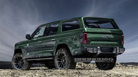 pictures of the new ford bronco new ford bronco rendering adds two doors and removes the roof