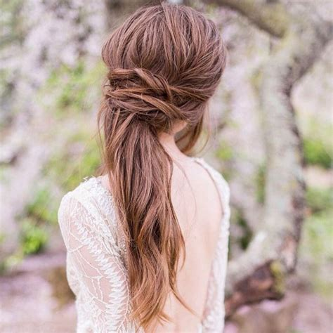 23 stunning half up half down wedding hairstyles for 2016 23 latest half up half down hairstyle trends for 2016
