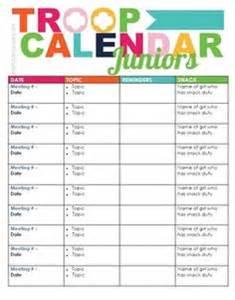 scout calendar template scout juniors on scout juniors