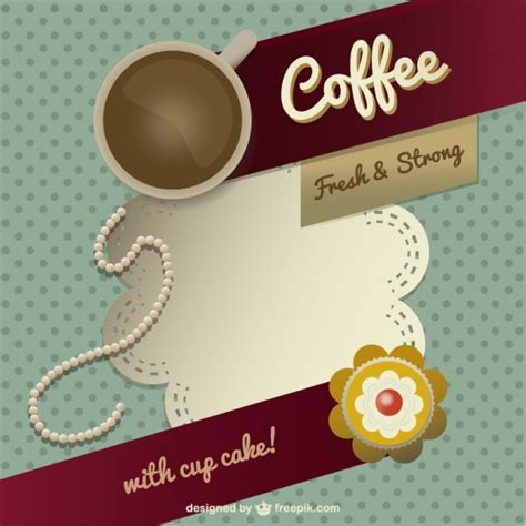 Coffee Template Design Vector Free Download Free Coffee Website Templates