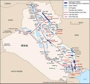 map of iraqi fields iraqi gas in the light of recent geopolitical turbulences