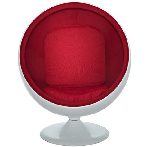 eero aarnio ball chair white red amazon co uk kitchen bubble chair circle and ball chairs buy stylish round