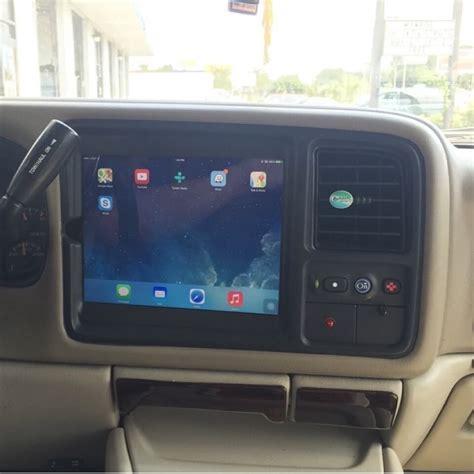 premium ipad  dash vehicle integration