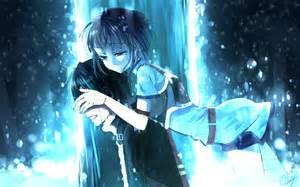 Sword art online kirito kirigaya suguha crying anime hd wallpaper