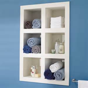 recessed shelves in bathroom build a shelving unit with compartments construction