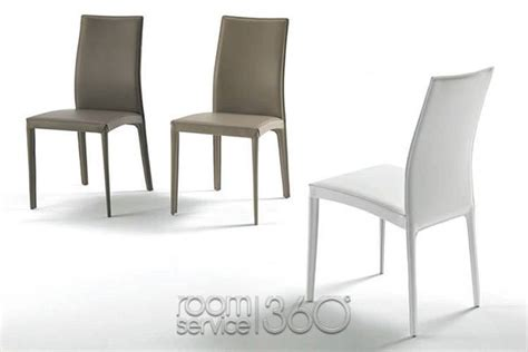 Contemporary Dining Room Chairs kefir modern italian leather dining chair by bontempi casa