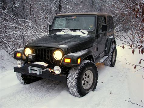What Is A Tj Jeep File Jeep Tj In The Snow Jpg
