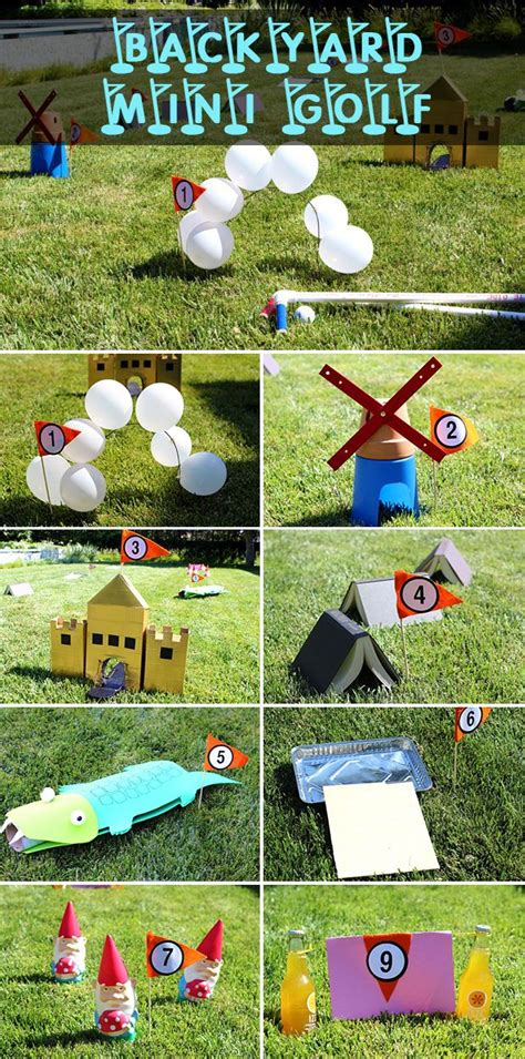 mini golf backyard how to build a mini golf course backyards and creativity