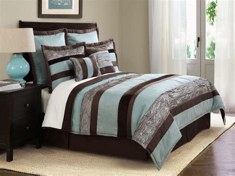 turquoise and brown bedding blue and brown bedroom decorating with turquoise and