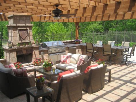 kitchen patio ideas landscaping ideas gt landscape design gt pictures outdoor kitchen pergola paver patio for