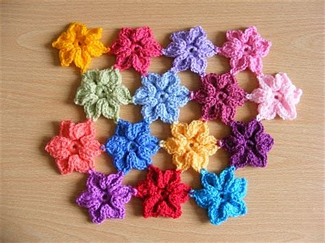 sta fiori come fare fiore uncinetto tutorial