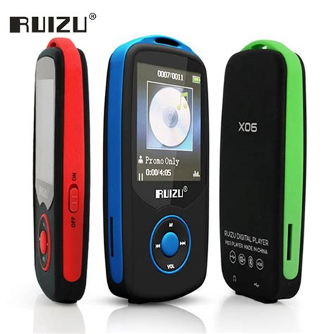 mp mucic ruizu x06 portable lossless digital sport screen hifi