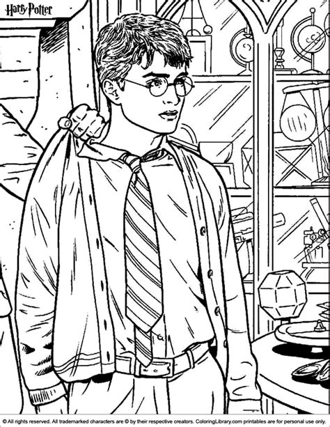coloring pages harry potter and the goblet of fire free coloring pages of goblet