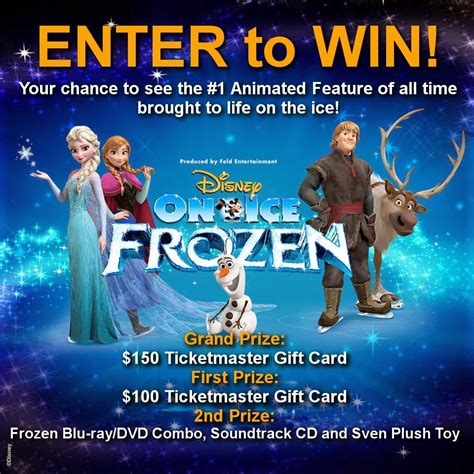 Disney Giveaway On Facebook - giveaway disney on ice frozen