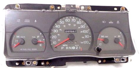 1998 2002 ford crown victoria instrument cluster repair 120 mph