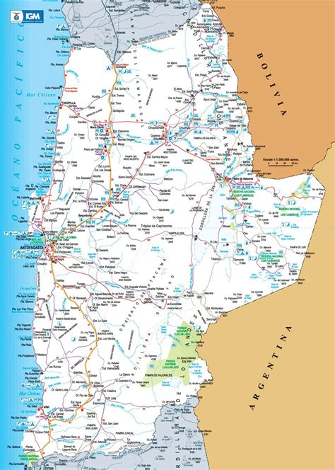 maps maps maps of antofagasta