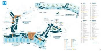 Sydney Airport Floor Plan by Sydney Airport Information Airport Services Guide