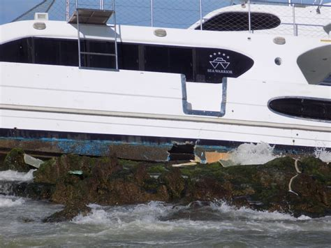 Sea Warrior se define estrategia para intentar salvar al catamar 225 n