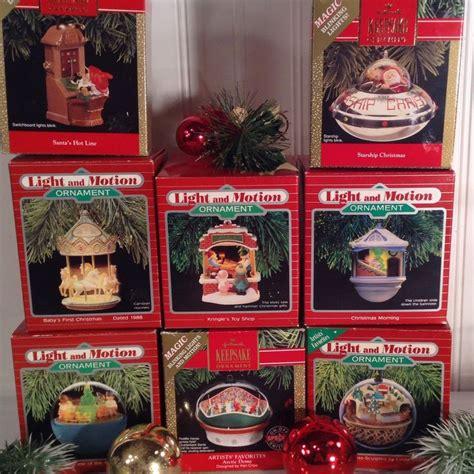 hallmark light and motion ornaments 38 best hallmark images on pinterest christmas deco