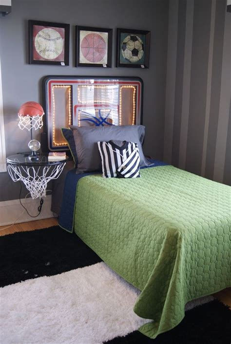basketball themed bedroom 17 inspirational ideas for decorating basketball themed room
