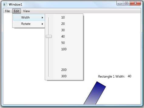 wpf menu template wpf slider menu codeproject