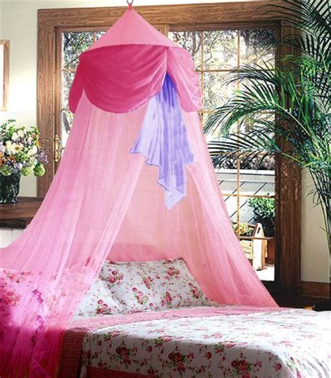 Pink Canopy Bed Pink Purple Chiffon Furbelow Princess Bed Canopy By Sid Ijhugyue6