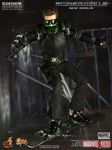 spider man film goblin product announcement hot toys spider man 3 quot green goblin quot