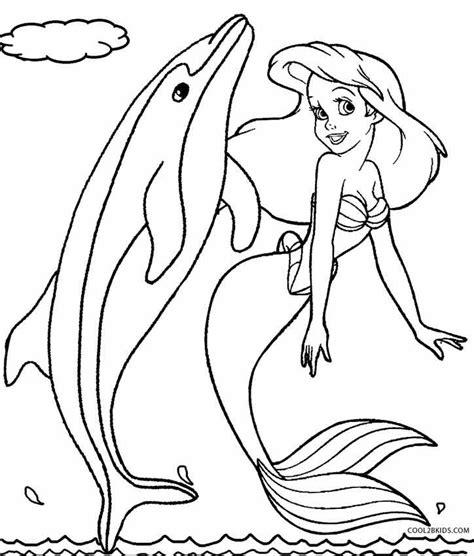 380 best ariel coloring pages images on